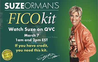 Suze Orman Flash ad
