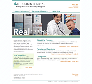 Middlesex Hospital Family Medicine Residency Program